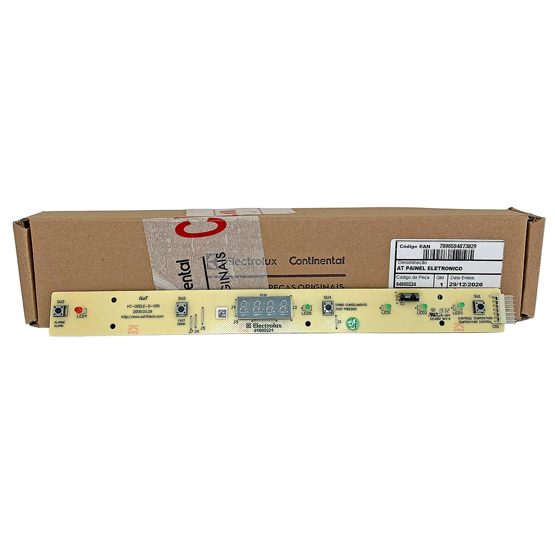 Placa Eletrônica Interface Geladeira Electrolux 64800224