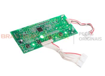 Placa Eletrônica Interface Lavadora Consul Newton CWL10B/CWL75A Original W10344774