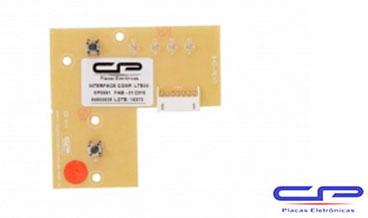 Placa Eletrônica Interface Lavadora Electrolux LTE09 Bivolt CP Eletrônica 991