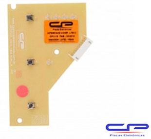 Placa Eletrônica Interface Lavadora Electrolux LTE12 CP Eletrônica 1118