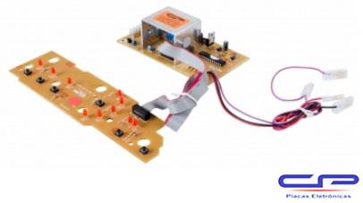 Placa Eletrônica Lavadora Brastemp BWC10AB_V2 10Kg Bivolt CP Eletrônica 1446