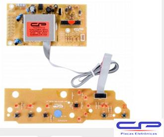 Placa Eletrônica Lavadora Brastemp Bivolt CP Eletrônica 1447