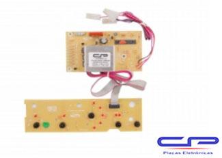 Placa Eletrônica Lavadora Brastemp BWF08B bivolt CP Eletrônica 528