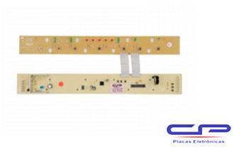 Placa Eletrônica Lavadora Brastemp BWF24A/ BWF08A 7kg Biv. CP Eletrônica 206