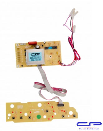 Placa Eletrônica Lavadora Brastemp BWG/C10A/BWF09A Biv. CP Eletrônica 485