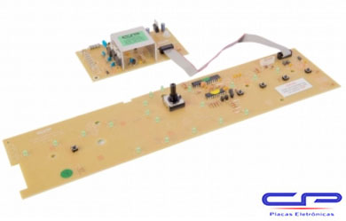 Placa Eletrônica Lavadora Brastemp Potência e Interface Versão 2 CP Eletrônica 1045