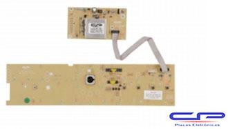 Placa Eletrônica Lavadora Brastemp BWL11A c/Potência e Interface bivolt versão 1 CP Eletrônica 1042