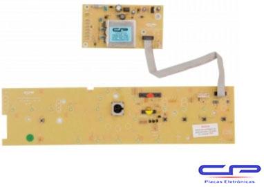 Placa Eletrônica Lavadora Brastemp BWL11A c/Potência e Interface bivolt versão 3 CP1044