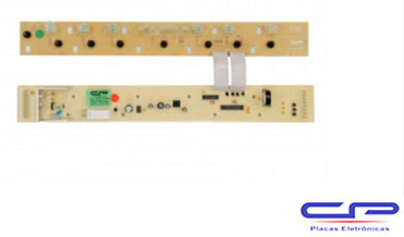 Placa Eletrônica Lavadora Brastemp BWQ24B/ BWQ22D Tira Manchas Bivolt CP Eletrônica 420