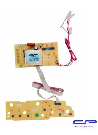 Placa Eletrônica Lavadora Brastemp CP Eletrônica 485