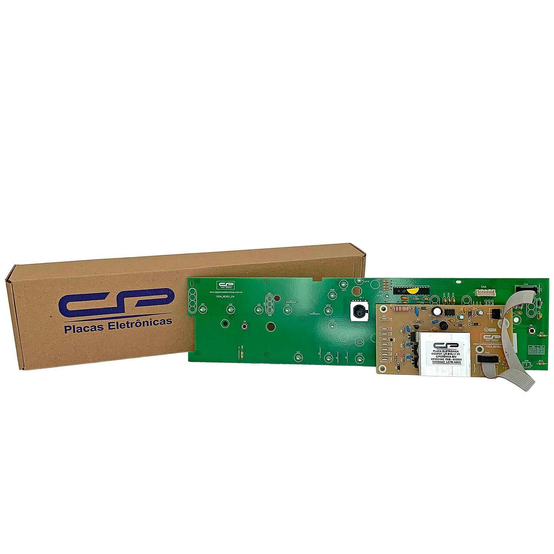 Placa Eletrônica Lavadora Brastemp Potência e Interface versão 1 CP Eletrônica 1042