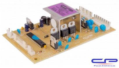 Placa Eletrônica Lavadora Electrolux LTR10 Bivolt CP Eletrônica 1115