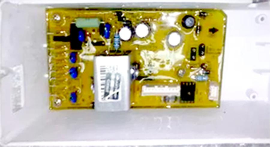 Placa Eletrônica Potência Lavadora Brastemp Consul BWC10BB 127v. Original W10416957