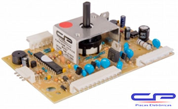 Placa Eletrônica Potência Lavadora Electrolux LTC10 V2 Bivolt CP Eletrônica 1434