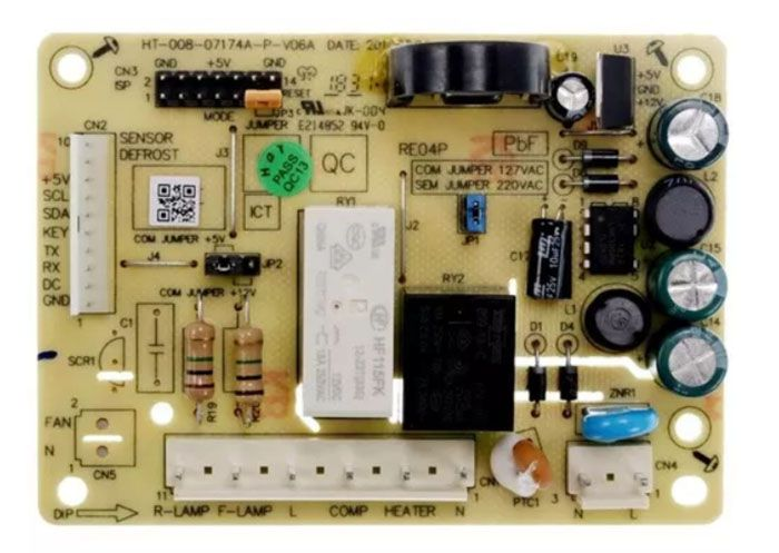 Placa Eletrônica Potência para Geladeira Electrolux Original 70201381