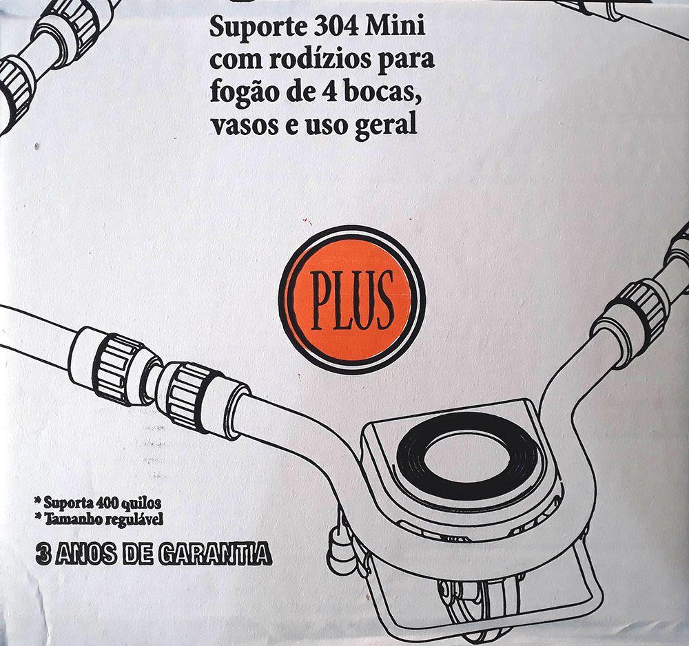 Suporte Mini Com Rodas Para Geladeira e Fogão Rodabem 304