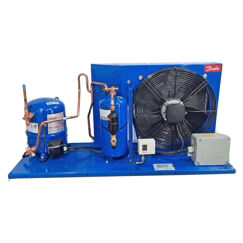 Unidade condensadora 2,3 Hp Danfoss HJZ028 220v trifásica R404/R22
