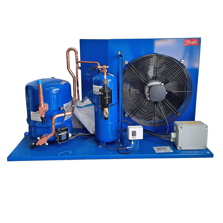 Unidade Condensadora 5,5 HP Danfoss HJZ064Z20Q 220V Trifásica R22/R404