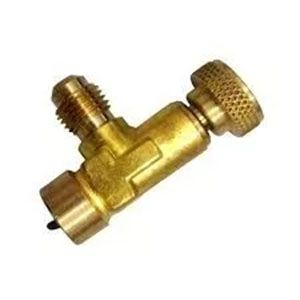 Valvula Acionadora C/manopla P/garrafa R22 134a 401a R600