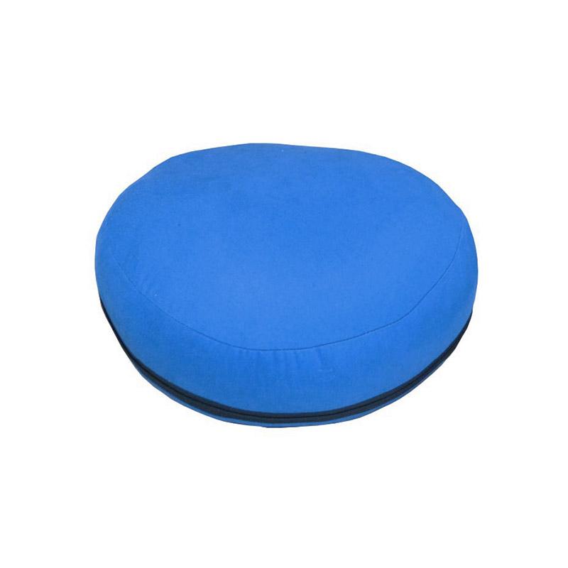 Almofada de meditação - Zafu Azul Royal