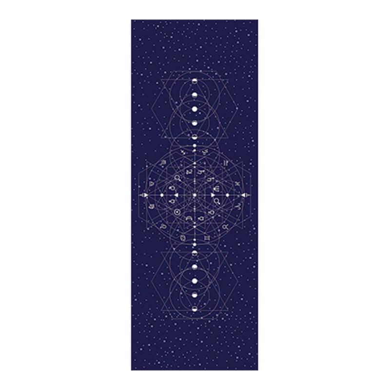 Tapete Yoga Aveludado Astrologia