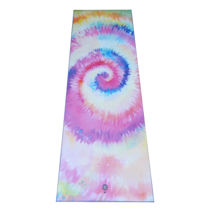 Tapete Yoga Aveludado Tie Dye