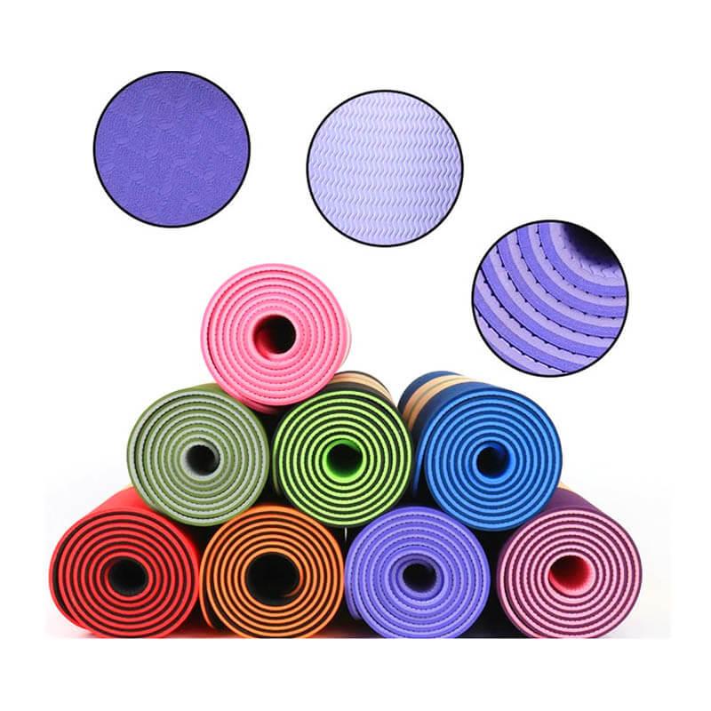 Tapete Yoga TPE Bicolor