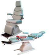 Cadeira Mod. EL-04A reclina toda tipo maca COM RODA - Xenonio