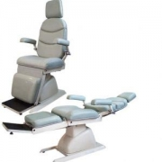 Cadeira para Exame de Oftalmologia Mod. EL-04A reclina toda tipo maca COM RODA - Xenônio