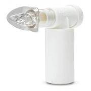 Exercitador e Incentivador Respiratório PowerBreath Classic Medic  - Resistência Leve  Branco