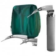 Laringoscópio Convencional com 3 Lâminas Curvas em Aço Inox 700LED - Missouri