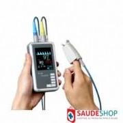 Oxímetro de Pulso de Portátil Mod. Tipo Palm (SpO2) c/ Temperatura - Ei