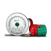 Fita ou Trena Antropométrica base em Alumínio - Com Risco Cardíaco e IMC - Avanutri
