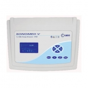 Ultrassom para Fisioterapia  Digital 1 e 3 Mhz  Possue Transdutor multifrequência de 1MHz e 3MHz Sonomed Vs 4150 US  Carci
