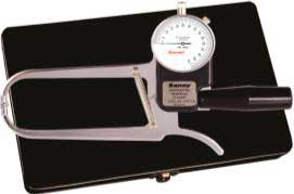 Adipômetro / Plicômetro Científico ClLASSIC LEITURA DIRETA (c/ 1 ponteiro) Cód. AD1007-LD - Sanny