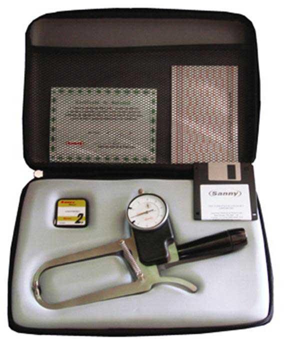 Adipômetro / Plicômetro Científico Classic Super Luxo Sanny