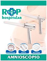Amnioscópio Modelo Master com 3 Pontas Marca RSP Hospitalar