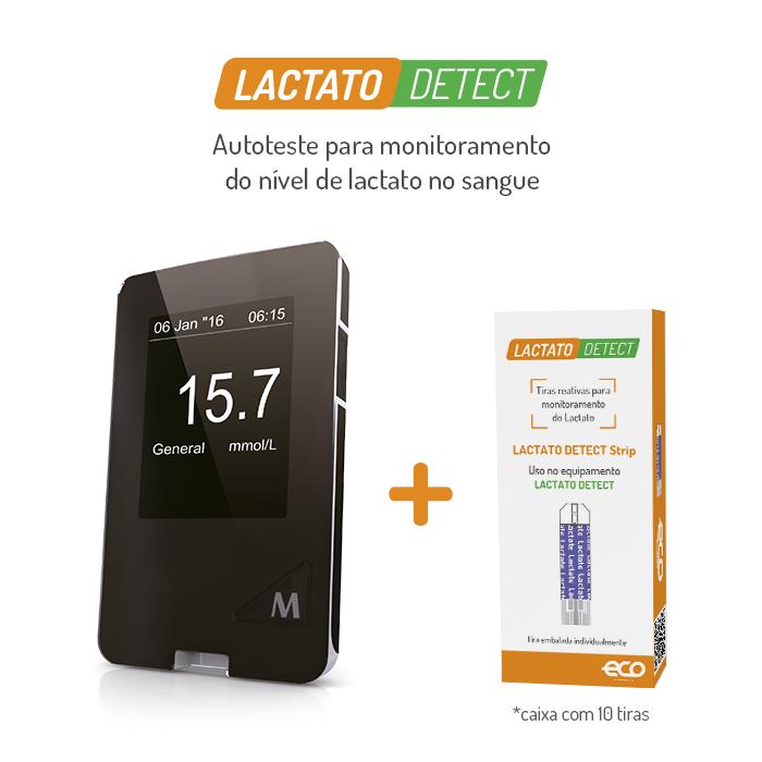 Analisador de Lactato Detect Autoteste TD-4261 - Eco Diagnóstica