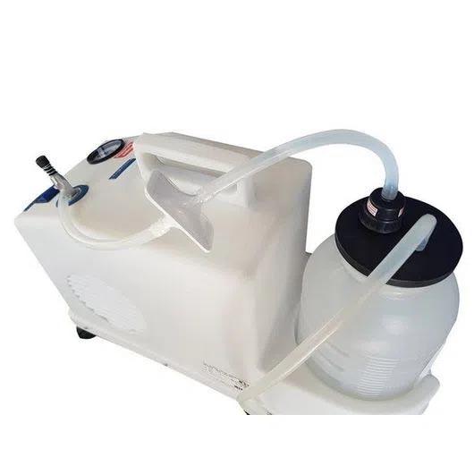 Aspirador - Bomba Vácuo Sugadora de Sangue e Secreção - Mod.14014POC - Nevoni