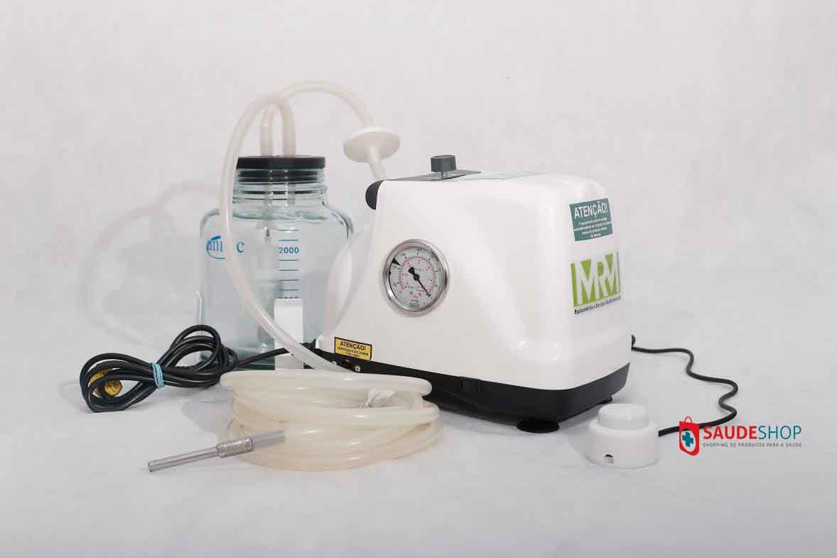 Aspirador Cirúrgico 3 litros frasco em vidro ou polivinil - Mod. MRM-300 -  Aspiravida