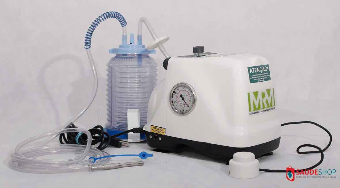 Aspirador Cirúrgico 2 litros frasco em polivinil - Mod. MRM-300 -  Aspiravida