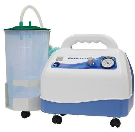 Aspirador Cirurgico Evolution 5000 Com Frasco 5 Litros PP -  Protec