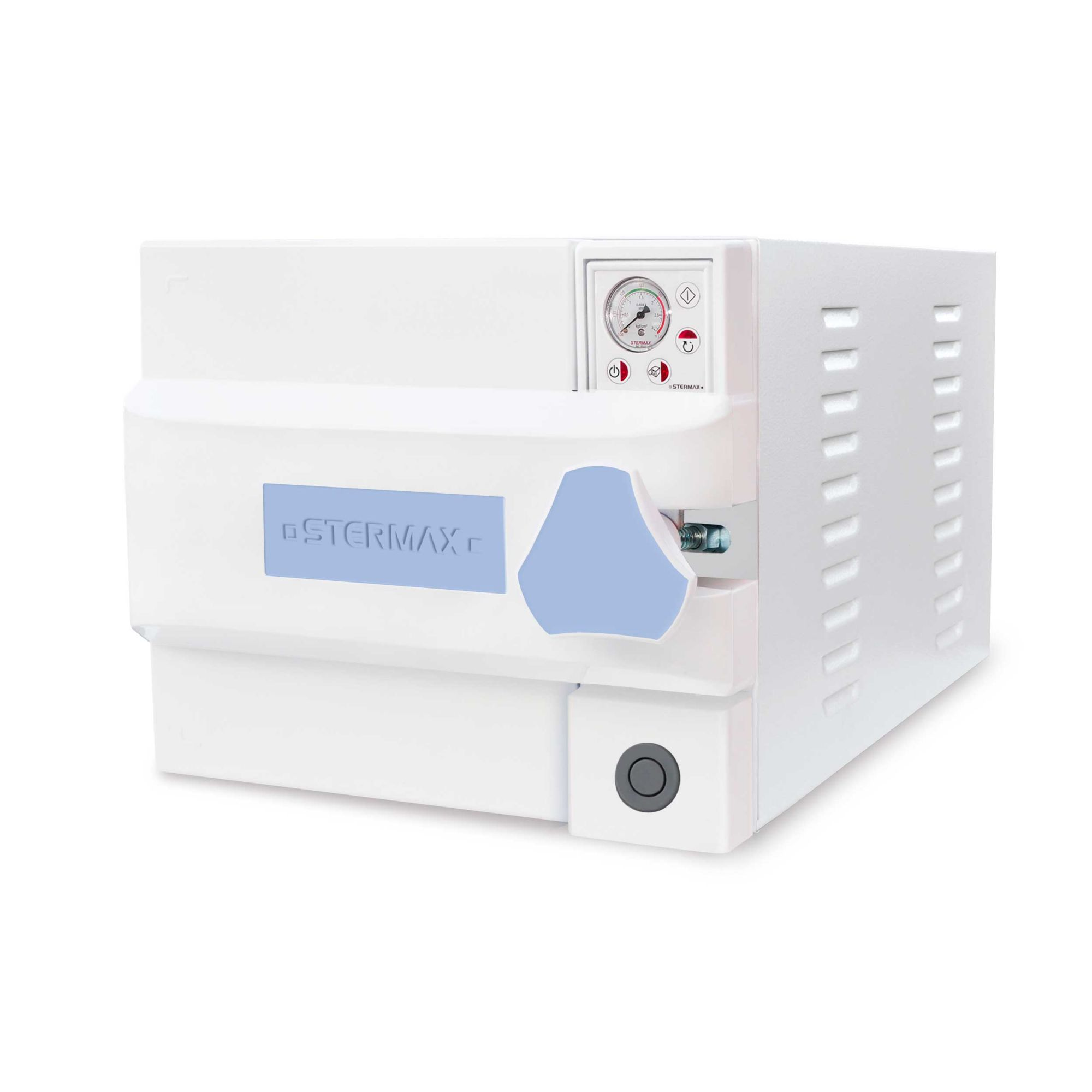 Autoclave Box Analógica 21 Litros com ciclo confinado (botão de despressurização) -Mod .ABA -  Stermax
