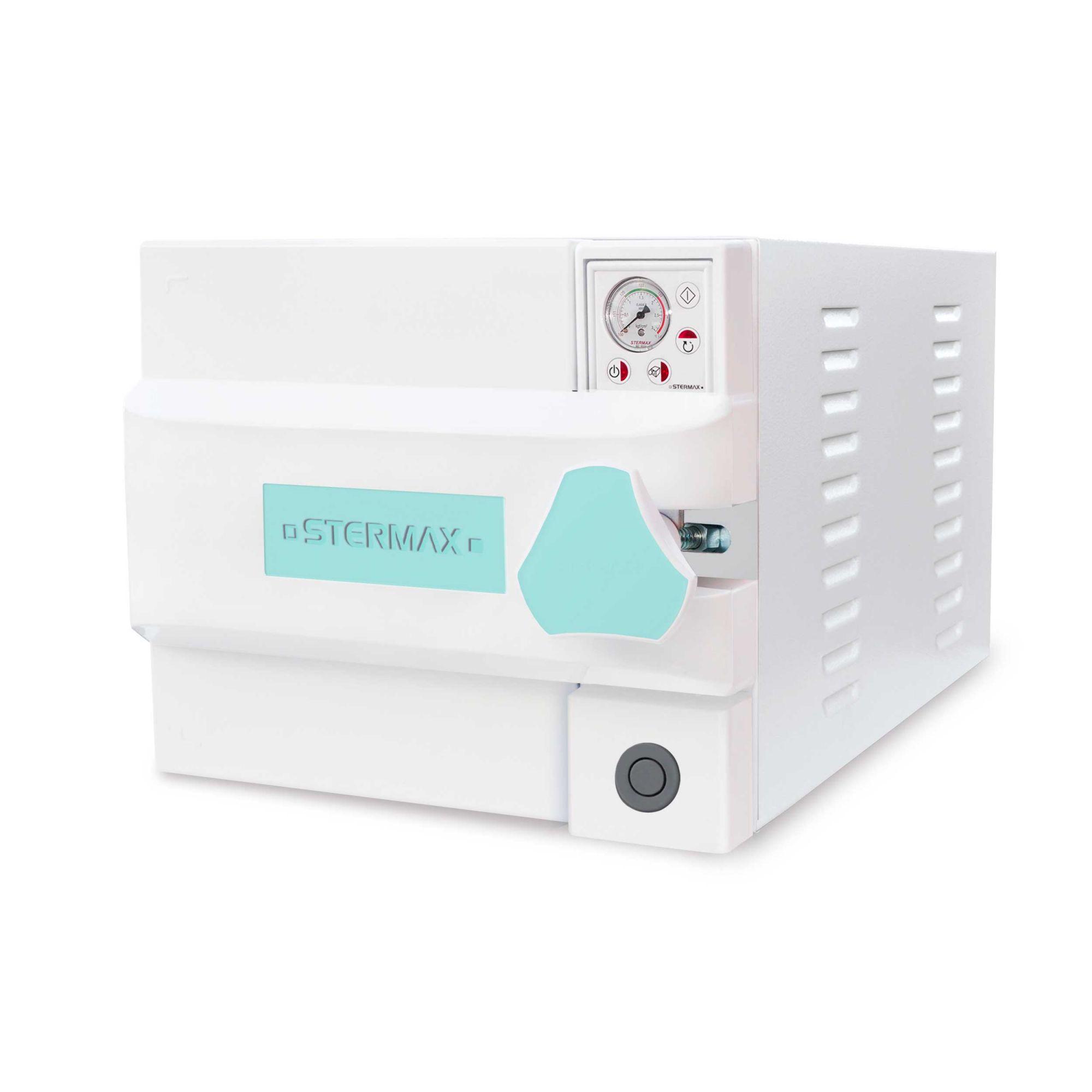 Autoclave Box Analógica 21 Litros com ciclo confinado (botão de despressurização) - Stermax
