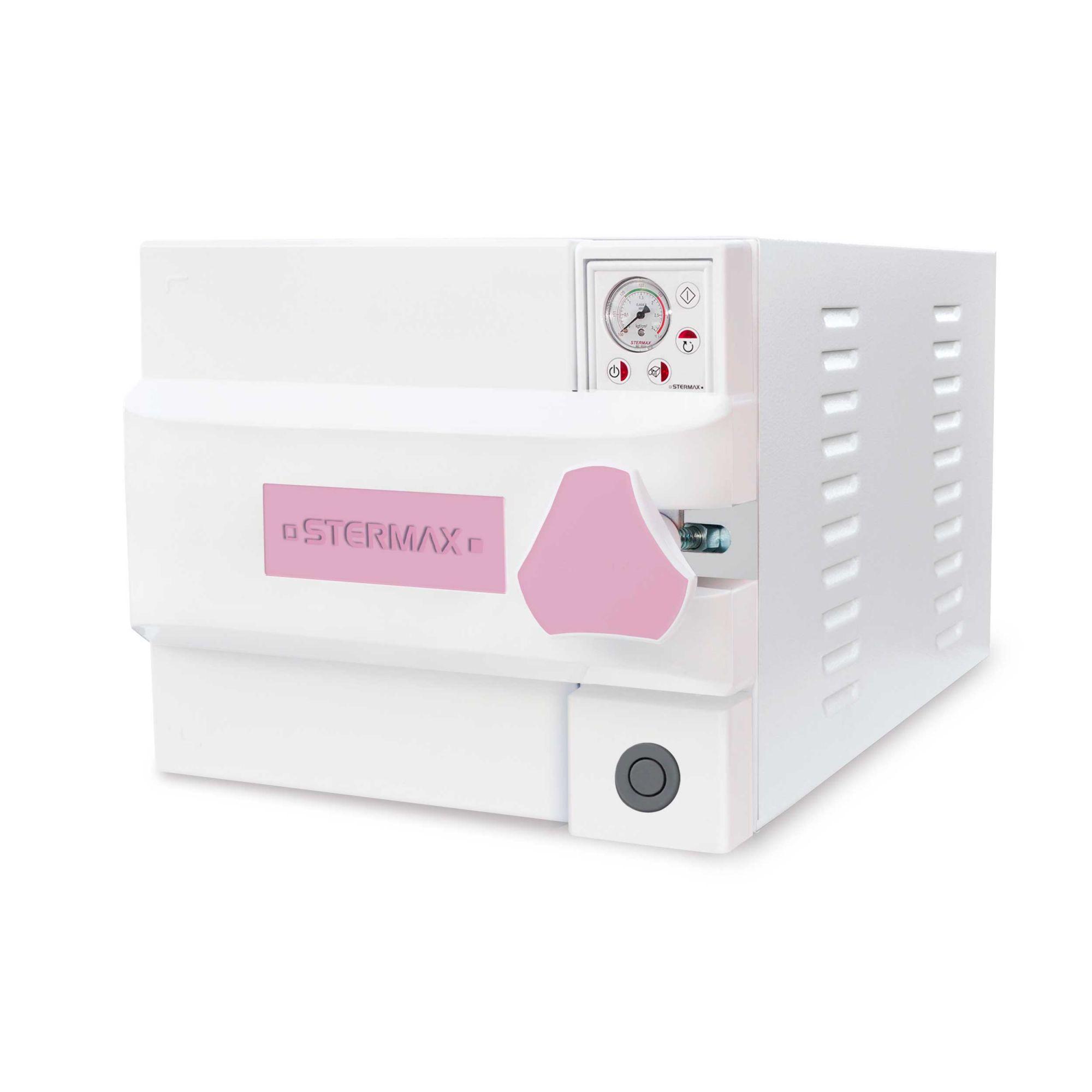 Autoclave Horizontal Analógica Gravitacional Silenciosa Box 21 Litros – Mod. 21AHAGSB - Stermax