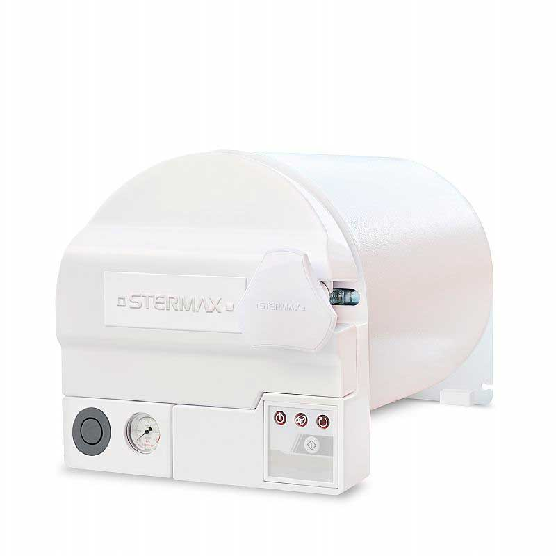 Autoclave Horizontal Analógica Gravitacional Normal Eco 12 Litros - Mod.12AHAGNE - Stermax