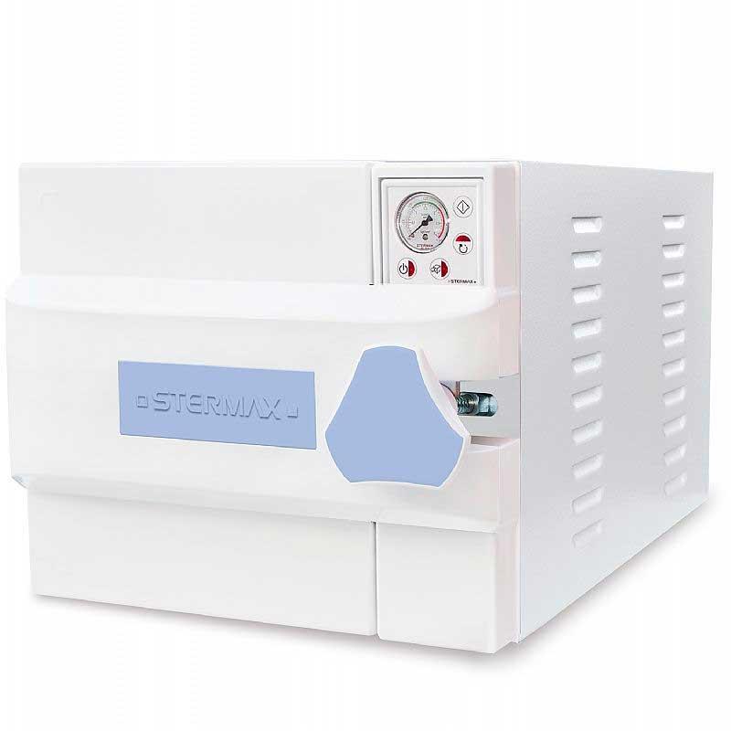 Autoclave Horizontal Analógica Gravitacional Normal Box 21 Litros - Mod.21AHAGNB - Stermax