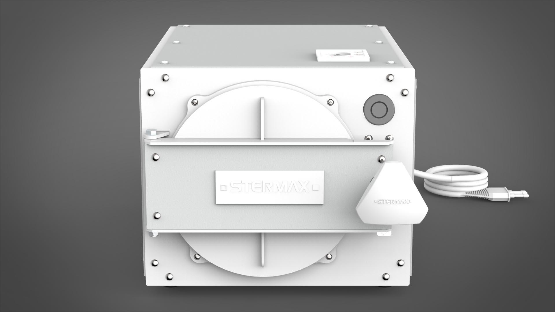 Autoclave Horizontal Box Analógica Work 21 Litros - Bivolt – com chave seletora de voltagem - Stermax