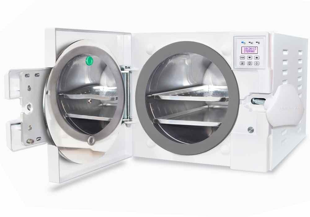 Autoclave Horizontal Super Vacuum 30 Litros - Stermax