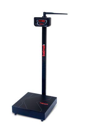 Balança Antropometrica Digital 200 Kg para pesar e medir pessoas Mod. New BK200FAN - Balmak